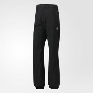 2018-NWT-MENS-ADIDAS-MAJOR-STRETCH-IT-PANTS-M-Black-Waterproof-Breathable