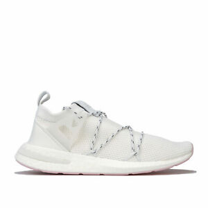 Short-Femme-Adidas-Originals-arkyn-Knit-Baskets-en-Blanc-Cristal-Chaussures-Blanc