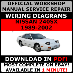 Awe Inspiring Official Workshop Service Repair Manual For Nissan 240Sx 1989 2002 Wiring Cloud Nuvitbieswglorg