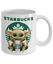 thumbnail 5 - Starbucks Baby Yoda Star Wars Cute Yoda STARBUCKS Fan Coffee Mug Gift