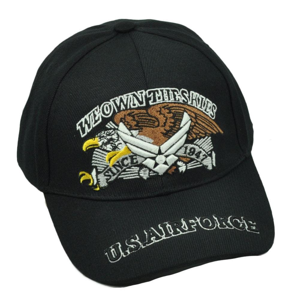 U.S Vereinigte Staaten Air Force We Eigenen Der Skies Since 1947 Schwarz Mütze