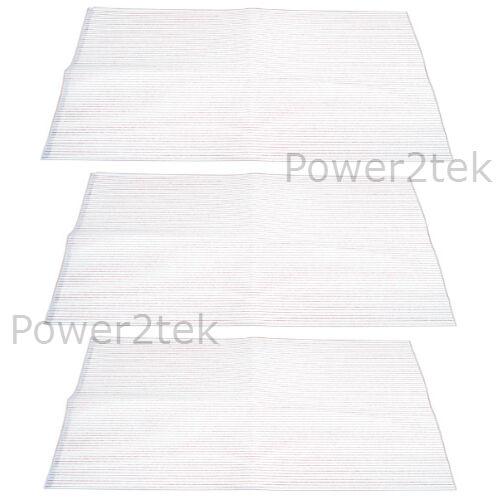 3 x FABER Cappa Estrattore sfiato filtro del grasso Indicatore Saturazione Nuovi
