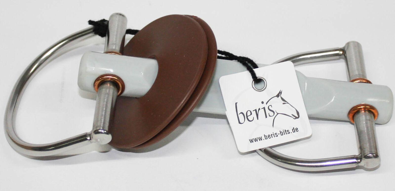 Beris D-Gebiss Schmetterlingsstange Suave gris 10255-120-S