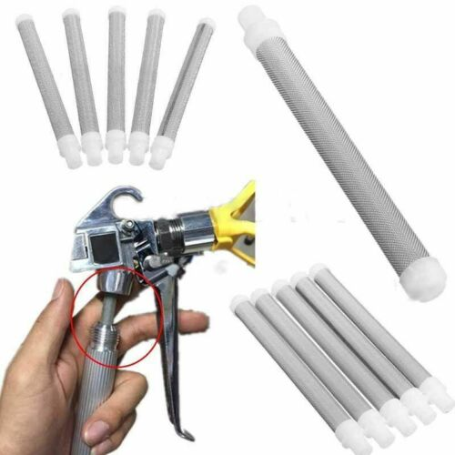 5Pcs Airless Spray 60 Mesh Airless Gun Filter Elements Replace Part For Wagner