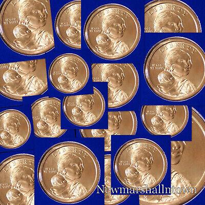 H//T~ 2019 P BU SACAGAWEA//U.S SPACE PROGRAM NATIVE AMERICAN GOLD $25 DOLLAR ROLL