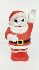 VTG-Sanitoy-Santa-Claus-Rubber-Squeaker-Toy-8-034-Tall-N-Y-N-Y-USA-Red-Works