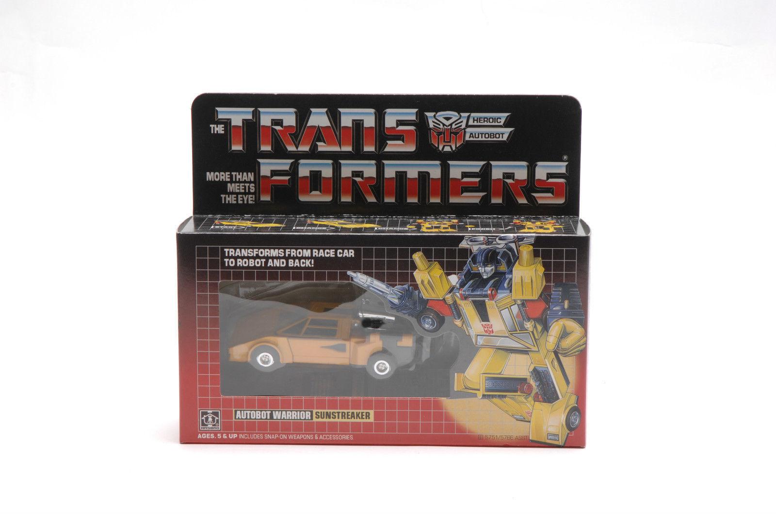 Transformers Sunstreaker Complete Vintage toy Gift