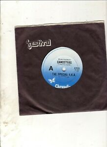 THE-SPECIALS-SELECTER-Gangsters-AUSSIE-7-034-2-TONE-SKA