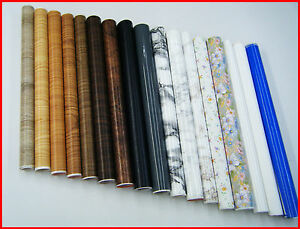 dc fix wood marble discounted sticky back self adhesive vinyl contact paper ebay. Black Bedroom Furniture Sets. Home Design Ideas