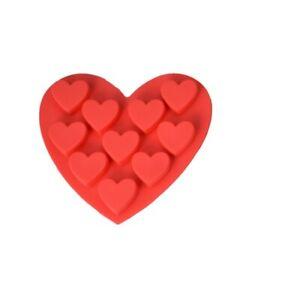 Ten Hearts Red