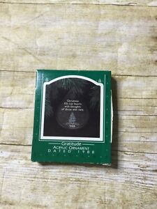 Hallmark-Keepsake-Ornament-1988-Gratitude-with-box-Christmas-collection