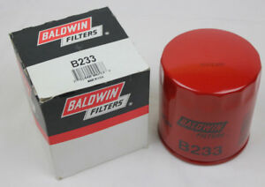 Engine Oil Filter BALDWIN B233 Brand New