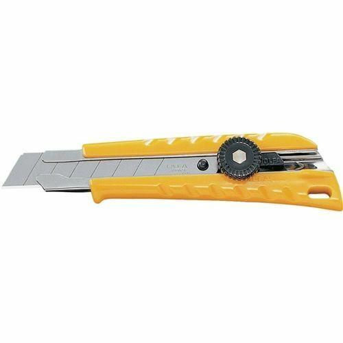 OLFA Cuttermesser B.18mm m.Feststellrad m.Stahlführung Olfa