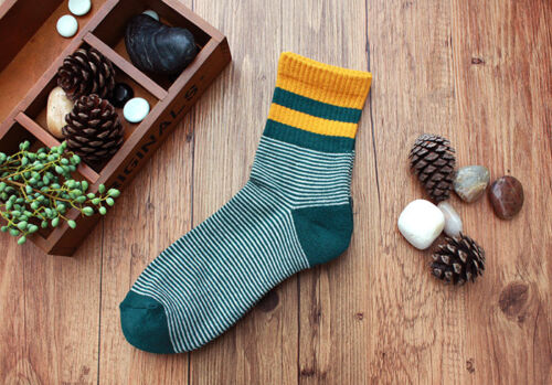 5pairs Men/'s Basketball Stripe Ankle Socks Soft Cotton Climbing Sport Multi-Type