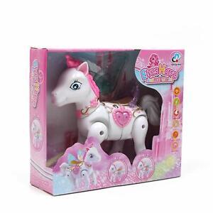 CHILDREN-Kids-Princess-toys-ELVES-Horse-Light-Music-Walk-Around-fairy-TOY-uk