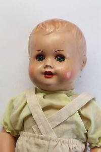 Antike-Puppe-Arthur-Schoenau-Sonneberg-ASS-um-1930-40-mit-Stimme-33-cm-xz