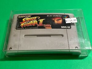 WORKING-SUPER-FAMICOM-NINTENDO-SNES-GAME-CARTRIDGE-CAPCOM-STREET-FIGHTER-2