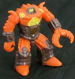 Battle Beasts #28 Crusty Crab With Rub Vintage Takara 1986 Hasbro