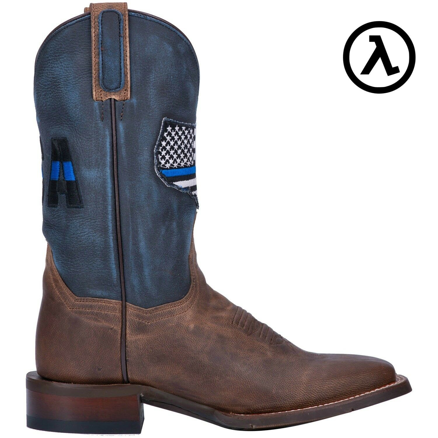 DAN POST THIN blueE LINE 11  WOMEN'S USA FLAG WESTERN BOOTS DP4030  ALL SIZES