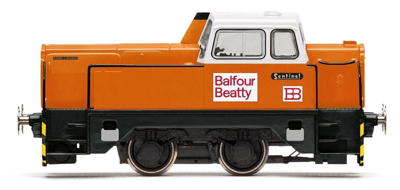 Hornby Balfour Beatty 4wDH Sentinel R3353 FRI FkonstYG