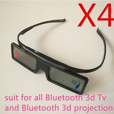 4X replacement SSG-5100GB active 3D Glasses Samsung Sony 3d TV TDG-BT500a hw48