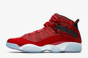 916bd641ccf071 New Men s Air Jordan 6 Rings Shoes (322992-601) Gym Red   White ...
