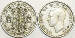 1947-to-1951-George-VI-Cupro-Nickel-Halfcrown-Your-Choice-of-Date