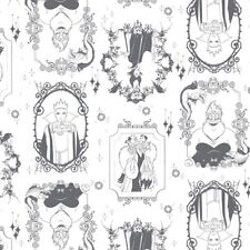 Camelot Disney Villains 85130102 1 Iron Frames   BTY Cotton Fabric