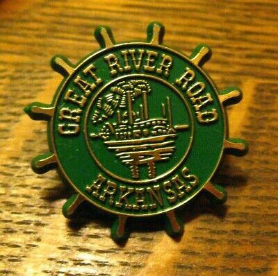 ALASKA/'S INSIDE PASSAGE State  vintage enamel pin lapel badge brooch gift souvenir whale boat