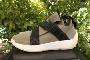 fa96d255dec6 ADIDAS JAMES HARDEN LS 2 BUCKLE SZ 14 OLIVE GREEN WHITE BLACK ...