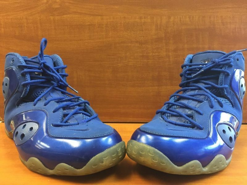 "2012 Nike Zoom Rookie ""Memphis bluees"" Game Royal 472688-403 Size 11 Penny Posite"