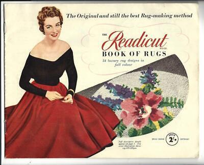 Readicut Book Of Rugs Catalog 1954 Do