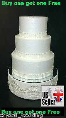 Ivory Pearlised ribbon trim  for cake decoration   2 designs   BOGOF   1yrd