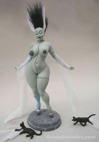The Bride of Frankenstein - Franken Babe - Limited Edition Booty Babe 1 6 statue