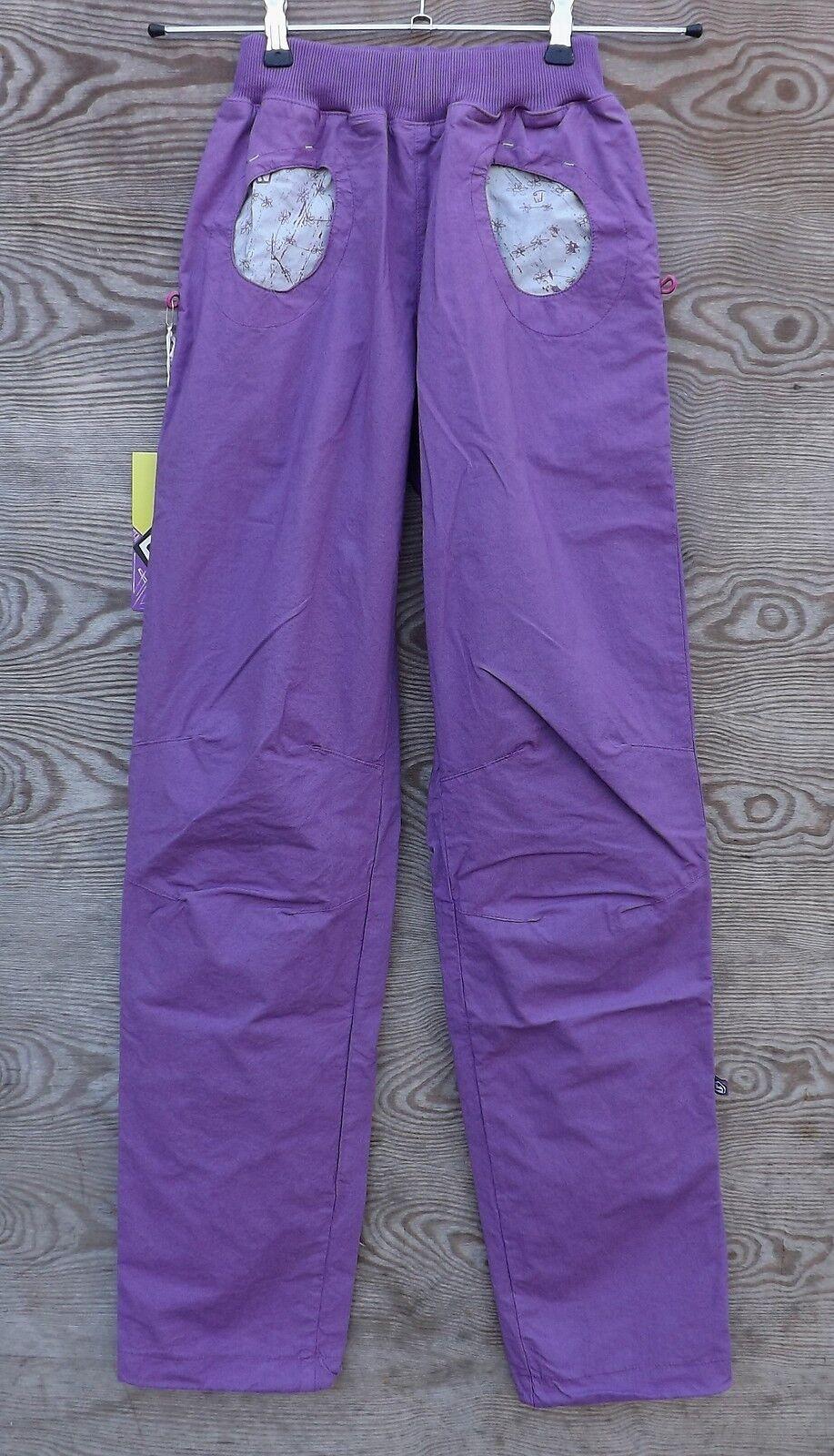E9 Pulce Summer, Lightweight Women's Trousers, Climbing Climbing Pants, Cyclamen
