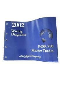 2002 Ford F 650 F 750 Super Duty Truck Electrical Wiring Diagram Manual Ewd Oem Ebay