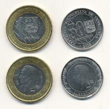 Venezuela - Satz aus 2 Münzen - 50 Centimos + 1 Bolivar SOBERANOS 2018 UNC - NEW