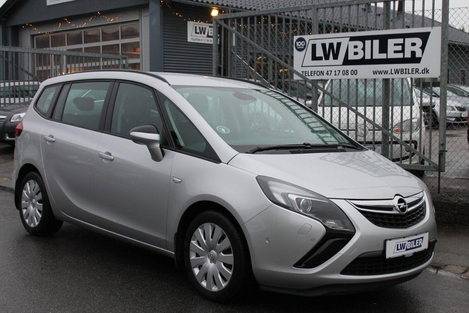 Opel Zafira Tourer 1,4 T 120 Enjoy eco 5d - 126.900 kr.