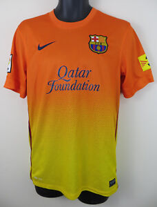 ece4857af9d Image is loading Nike-Barcelona-2012-Away-Football-Shirt-Camiseta-Maglia-