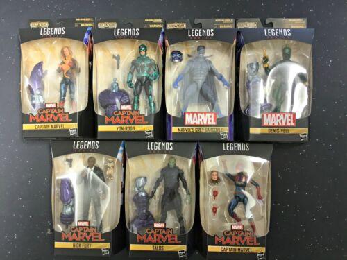 2019 Marvel Legends Captain Marvel Wave 1 BAF Kree Sentry Set of 7