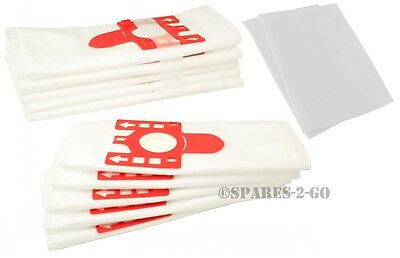5 x Miele S356I S384 S4441 S500I S370 S388 S4510 S501 FJM Dust Bags /& Filter