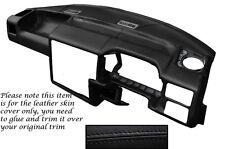 BLACK Stitch accoppiamenti VW T4 Transporter Caravelle CAMPER DASH Dashboard Copertura LTHR