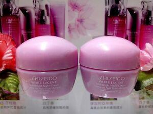 SALE-Shiseido-White-Lucent-MultiBright-Night-Cream-10MLX2-NEW-034-POST-FREE-034