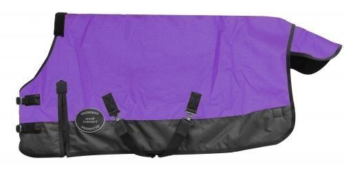 Showman PURPLE PONY YEARLING 36 -40  Waterproof 1200 Denier Turnout SHEET   NEW