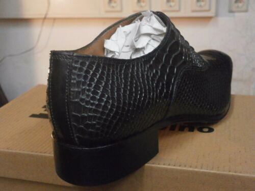 uomo in pelle solido elegante Scarpe da italiane Alborino Scarpe Scarpe Mario qHZT5