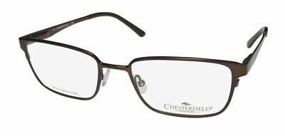 BRAND NEW Chesterfield CH871 0Y17 Matte Slate, Men's Eyeglass Frame 54 19 145 | eBay
