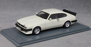 NEO-Models-FORD-CAPRI-MKIII-Mk3-Turbo-in-Bianco-1981-43328-1-43-NUOVO