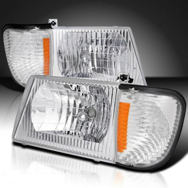 FOREST RIVER GEORGETOWN 2002 2003 SET PAIR HEAD LIGHT FRONT LAMPS HEADLIGHTS RV