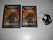 CODEX Enemies Of The Imperium Pc Cd Interactive Army List for WARHAMMER 40000