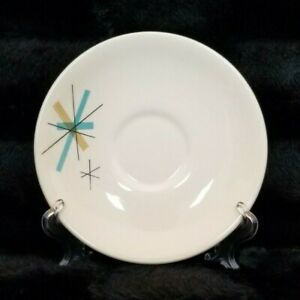 VTG-Mid-Century-Modern-6-034-Atomic-Star-Burst-Salem-North-Star-Saucer